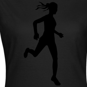 Cross country female - Vrouwen T-shirt