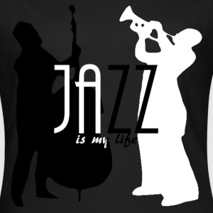jazz is my life Camisetas - Camiseta mujer