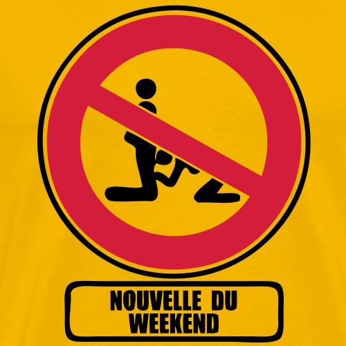 nouvelle du weekend interdit