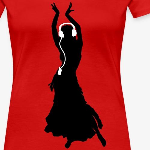 Flamenco Headphones Kopfhörer Tanzen Dancing Queen