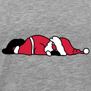 Santa Claus is sleeping T-Shirts - Men's Premium T-Shirt