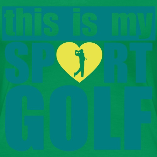 this is my sport love golf