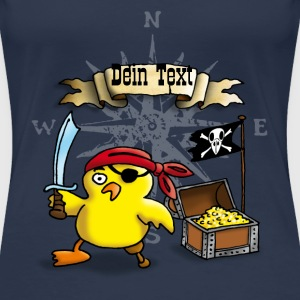 pirate_chick_g T-Shirts - Frauen Premium T-Shirt
