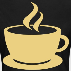 coffee cup tea cafe T-shirts - Dame-T-shirt