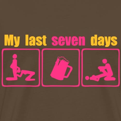 my last seven days beer sexe