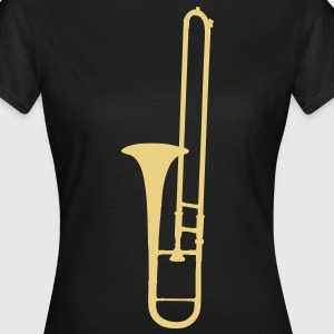 trombone brass instrument music T-Shirts - Women's T-Shirt
