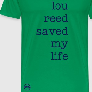 mens classic fit lou reed tee shirt - Men's Premium T-Shirt