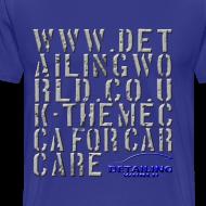 Design ~ Detailing World 'Mecca' T-Shirt (B&W)