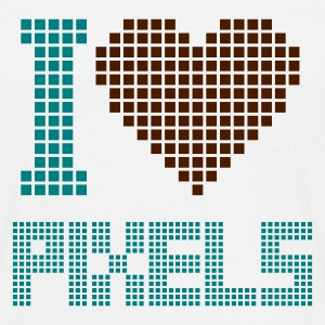 I Love Pixels Tee shirts - Tee shirt Homme