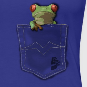 pocket grenouille by customstyle Tee shirts - T-shirt Premium Femme