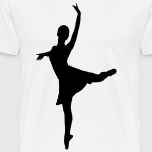 dance music ballet T-Shirts - Men's Premium T-Shirt