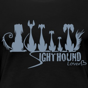 sighthound_lover T-Shirts - Frauen Premium T-Shirt