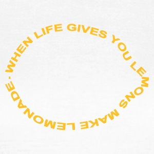 :: when life gives you lemons make lemonade :-: - T-shirt dam