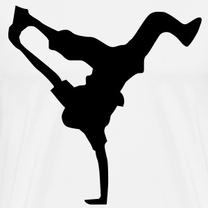 breakdance dance music hiphop T-shirt - Maglietta Premium da uomo