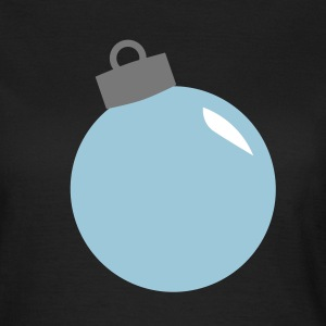 juletræ fir ball christmas ornament T-shirts - Dame-T-shirt