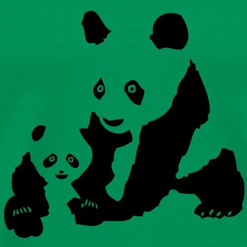 animal le petit panda et son papa