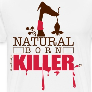 natura born killer T-Shirts - Men's Premium T-Shirt