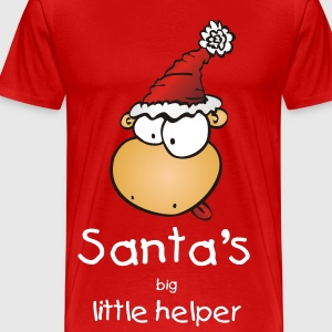 Santas Big Helper - Männer Premium T-Shirt