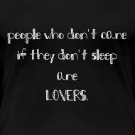 Motiv ~ LOVERS t-Shirt für die Jungs