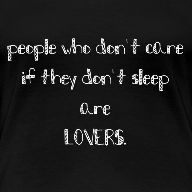 LOVERS t-Shirt für die Jungs