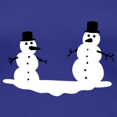 Snowmen Snowman Snow men man T-Shirts