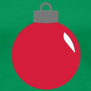 kerstboom fir bal christmas ornament T-shirts - Vrouwen Premium T-shirt