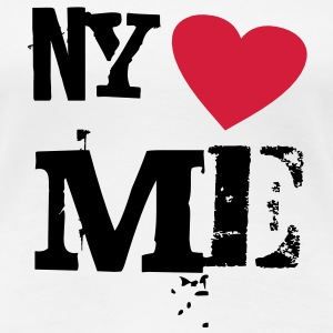 NY loves Me - Frauen Premium T-Shirt