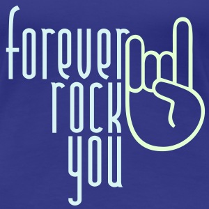 MANO CORNUTA - forever rock you | Frauenshirt klassisch - Frauen Premium T-Shirt