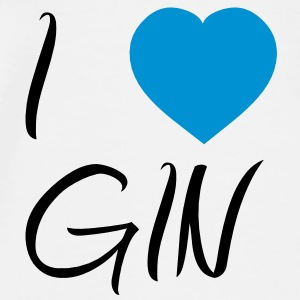 I Love Gin T-Shirts - Men's Premium T-Shirt