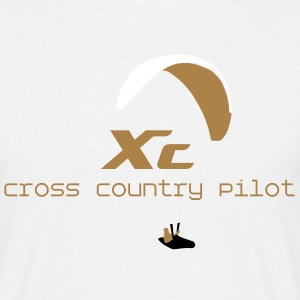 Parapente Cross Country Tee shirts - T-shirt Homme