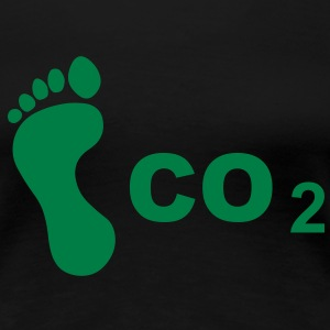 CO 2 Footprint T-Shirts - Women's Premium T-Shirt