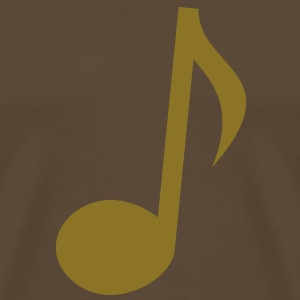 note touch music  T-Shirts - Men's Premium T-Shirt