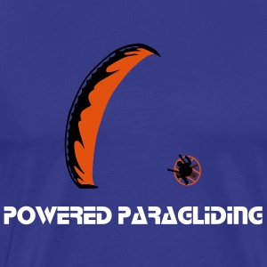 Powered Paraglider T-shirts - Herre premium T-shirt