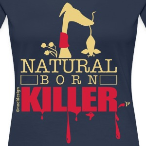 natura born killer T-Shirts - Women's Premium T-Shirt