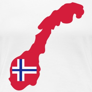 NORWAY NORGE - Women's Premium T-Shirt