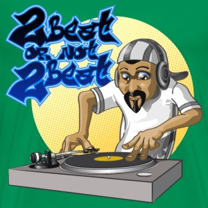 Dj beat - Men's Premium T-Shirt