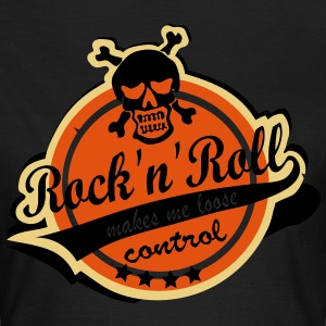 Rock'n'Roll makes me loose control - Frauen T-Shirt