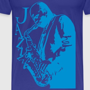 Saxophone player - T-shirt Premium Homme