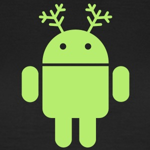 android christmas weihnachten T-Shirts - Frauen T-Shirt