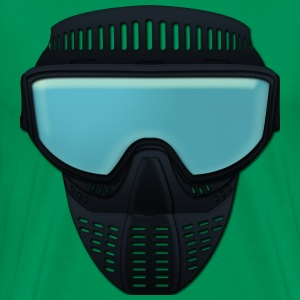 paintball maske T-shirts - Herre premium T-shirt