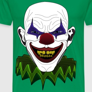 Bad sick clown T-Shirts - Männer Premium T-Shirt