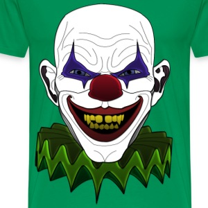 evil sick clown T-Shirts - Men's Premium T-Shirt