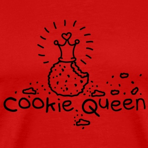 Cookie Queen T-shirts - Herre premium T-shirt