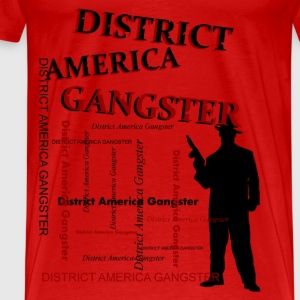 district america gangster Tee shirts - T-shirt Premium Homme