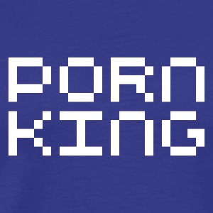 Porn King EN T-Shirts - Men's Premium T-Shirt