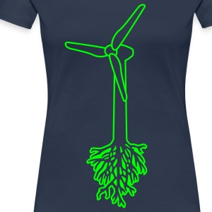 Think Green T-shirts - Vrouwen Premium T-shirt