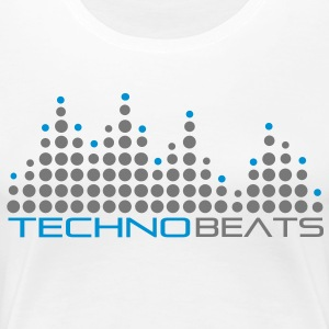 techno_beat_01 T-Shirts - Frauen Premium T-Shirt