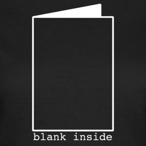 Blank Inside White T-Shirts - Women's T-Shirt