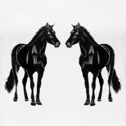 Pferde (Handzeichnung)