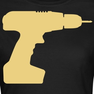 drill screwdriver profession tool T-Shirts - Women's T-Shirt
